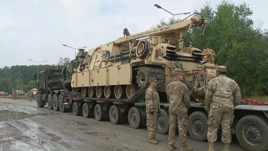Video Americká armáda cvičí v Polsku připravenost na nouzová nasazení