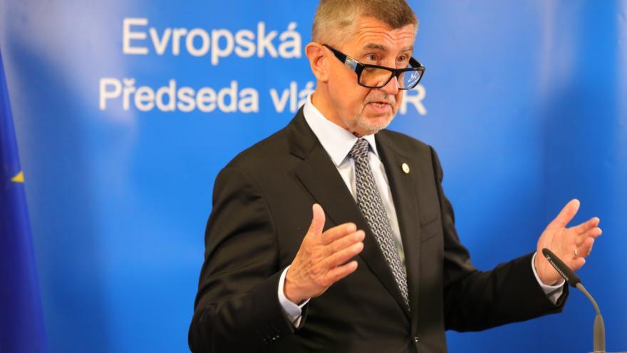 Video Studio ČT24: Projev Andreje Babiše k summitu EU
