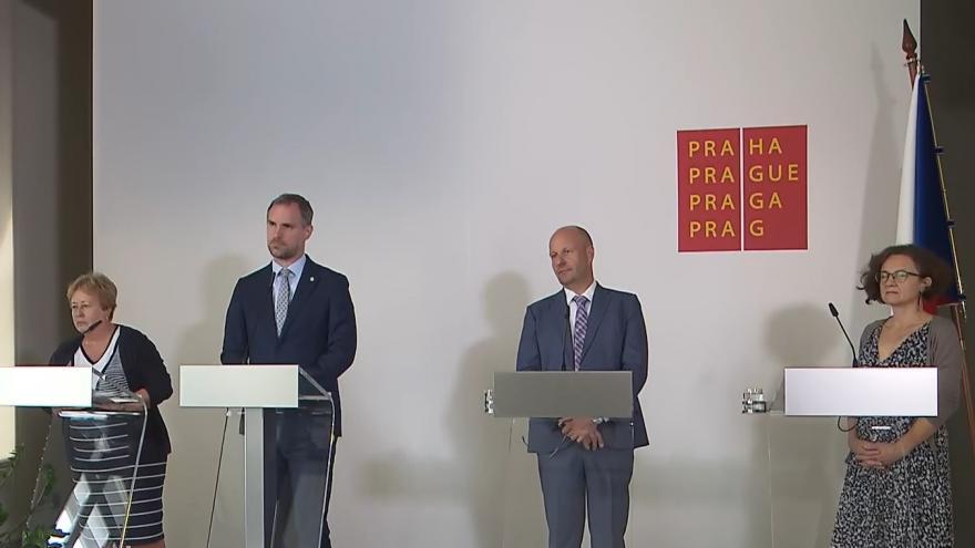 Video  Brífink k aktuální situaci v souvislosti s onemocněním covid-19 v Praze