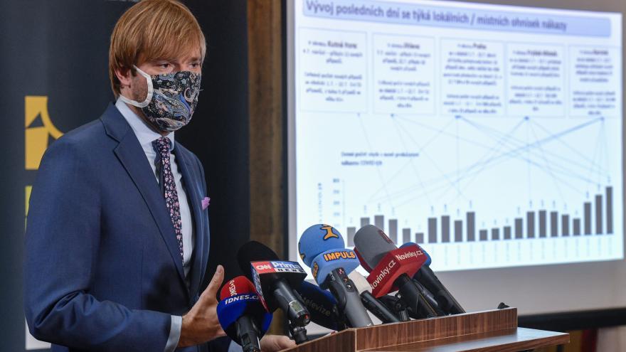 Video Brífink ministra zdravotnictví k tzv. semaforu z 27. července