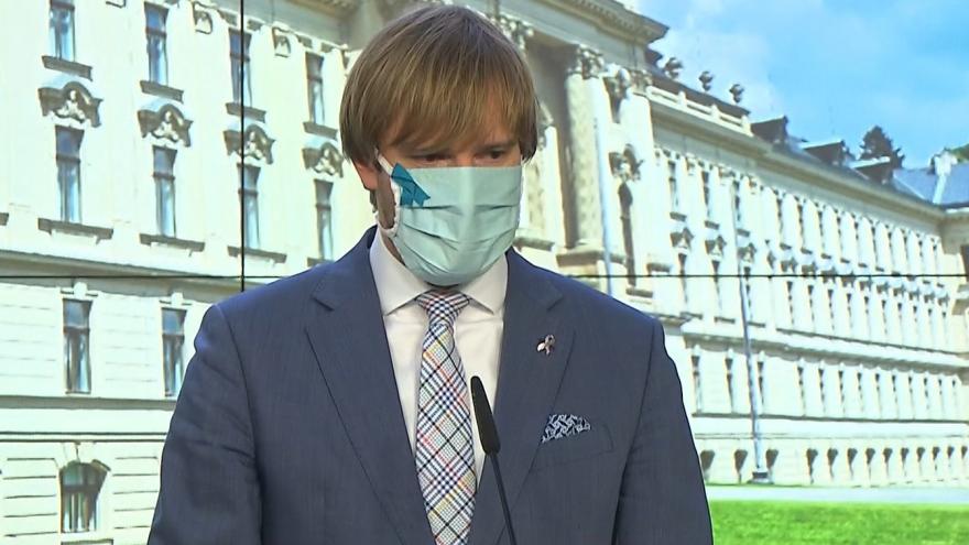 Video Brífink Rady vlády pro zdravotní rizika