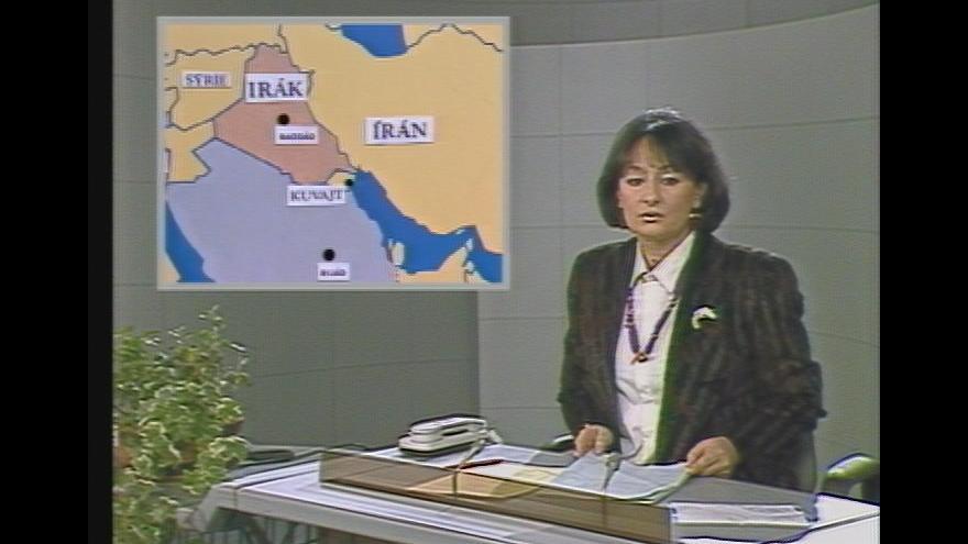 Video Válka v Perském zálivu (Deník ČST - 28. 2. 1991)