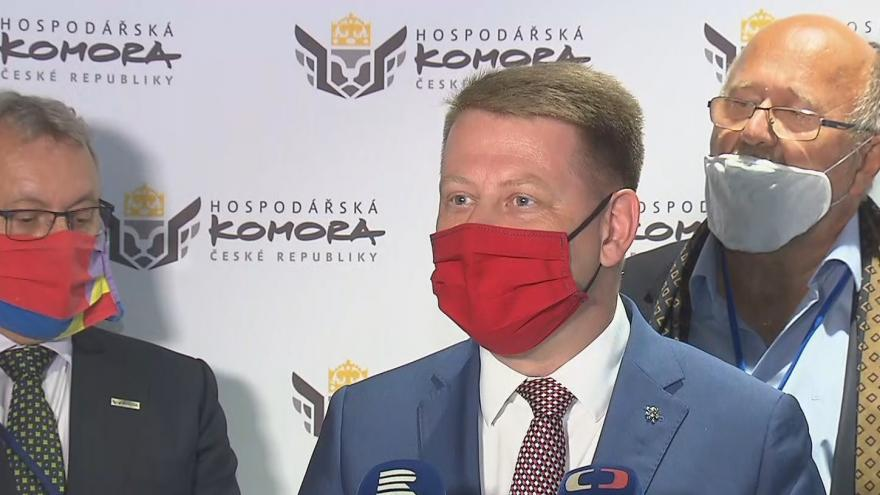 Video Brífink po Celostátním sněmu Hospodářské komory ČR