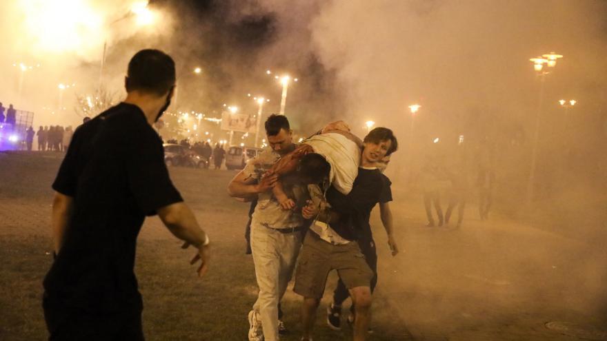 Video Události ČT: Běloruská policie násilně potlačila povolební protesty