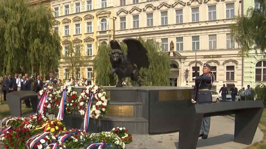 Video  Pietní akt k 75. výročí od návratu československých pilotů RAF