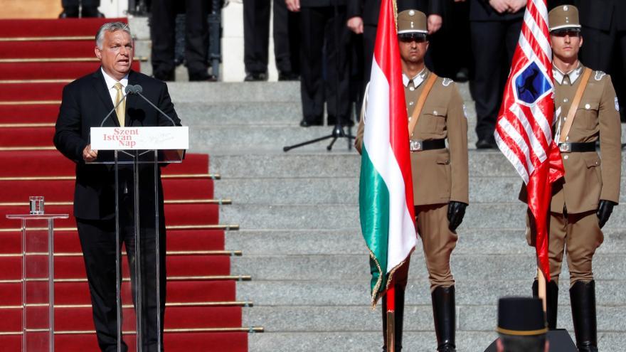 Video Události ČT: Orbán odhalil pomník Trianonu