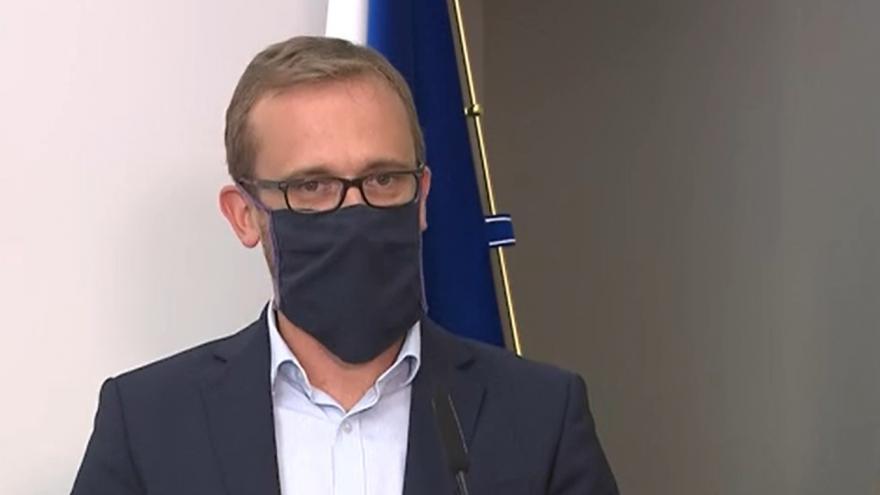 Video Brífink po jednání hl. m. Prahy z 7. září