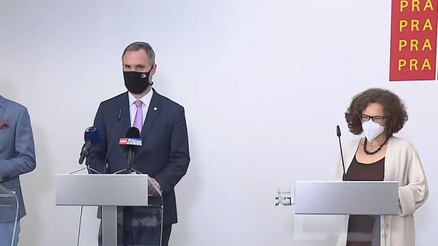 Video Brífink k epidemiologické situaci v Praze 8. září