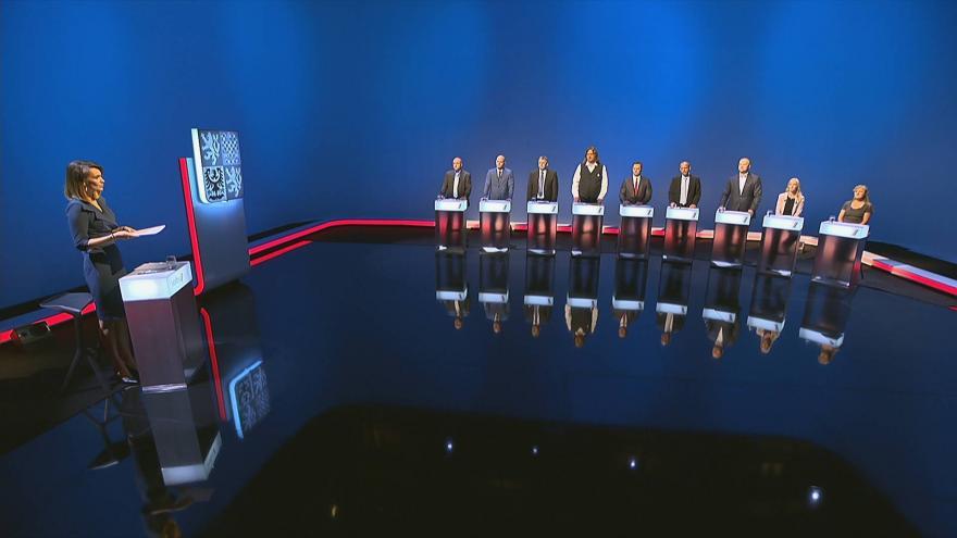 Video 1. část předvolební debaty krajských lídrů pro Karlovarský kraj