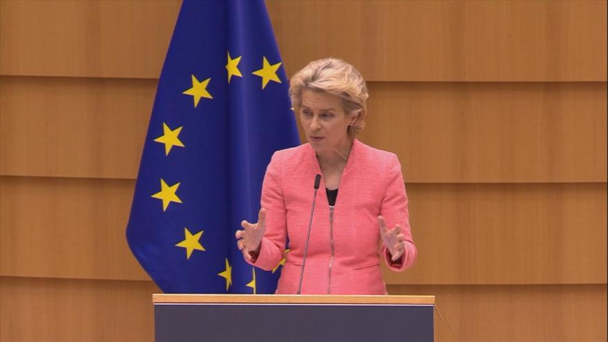Video Projev šéfky Evropské komise k Zelenému údělu