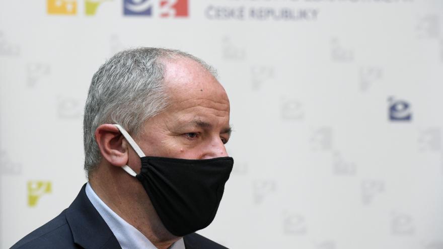 Video Brífink ministra zdravotnictví Romana Prymuly