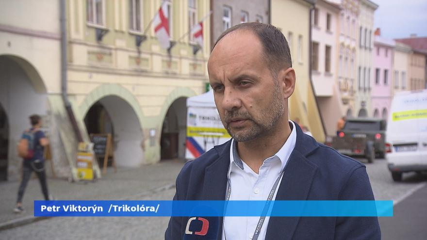 Video Lídr kandidátky - Trikolóra hnutí občanů - Petr Viktorýn