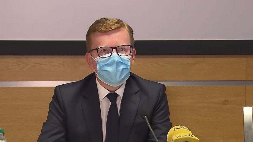 Video Brífink ministerstva vnitra k připravenosti na volby