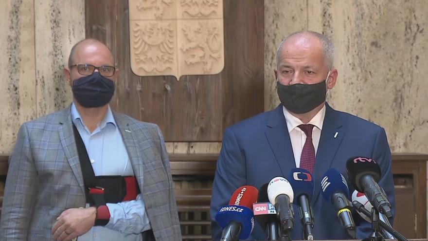 Video Budeme žádat o vyhlášení nouzového stavu, uvedl Prymula