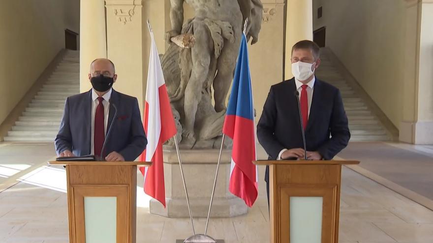 Video Brífink po setkání ministrů zahraničí Česka a Polska
