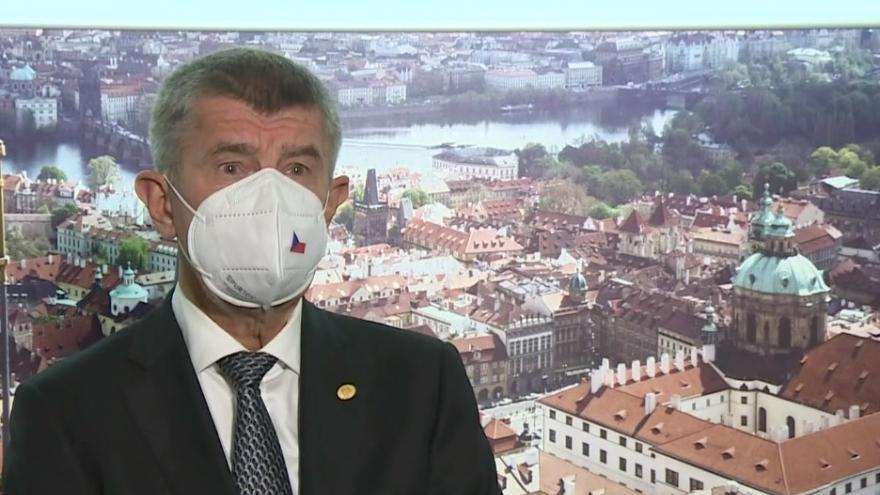 Video Tisková konference premiéra Andreje Babiše ze summitu EU v Bruselu