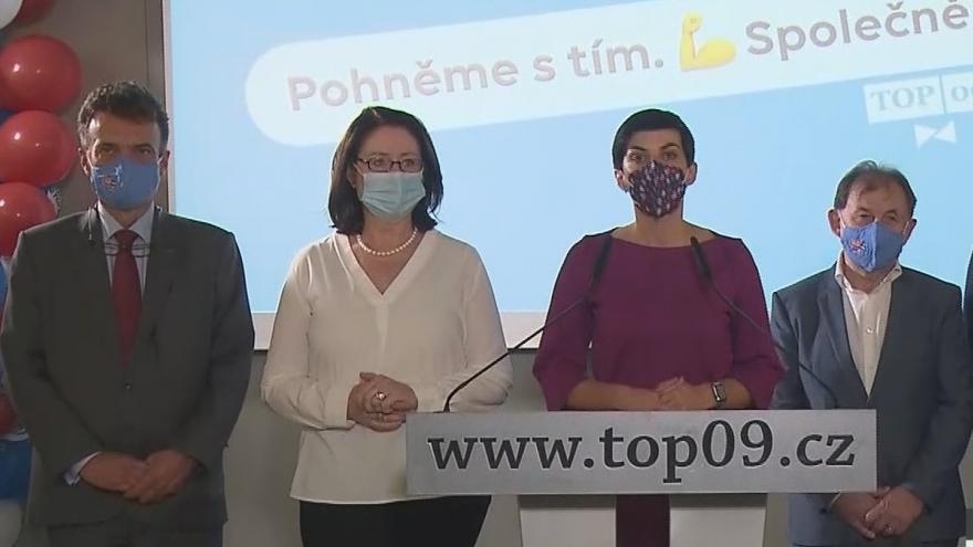 Video Vyjádření TOP 09 k výsledkům krajských a senátních voleb