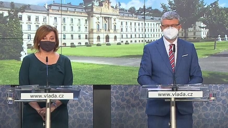 Video Brífink po jednání vlády z 5. října