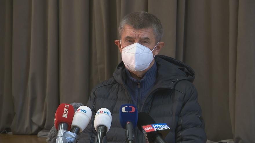 Video Brífink Andreje Babiše k epidemiologické situaci v Česku z 10. října