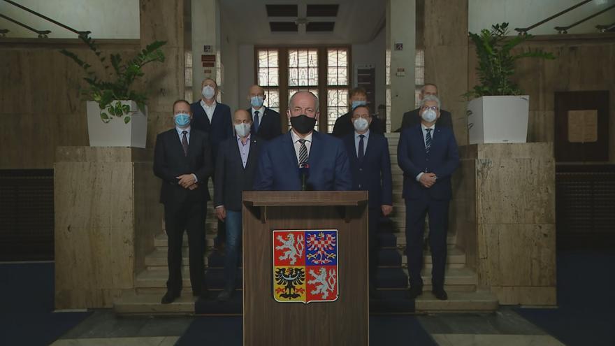 Video Mimořádný projev ministra zdravotnictví Romana Prymuly