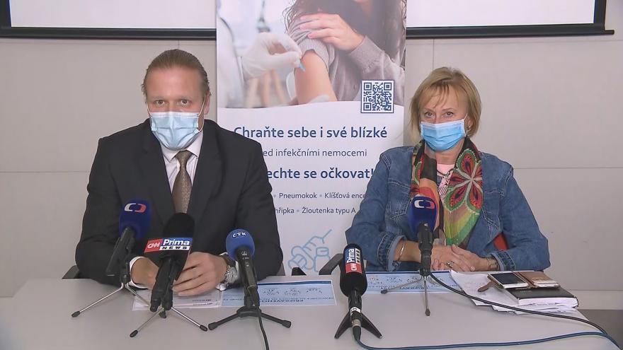 Video Brífink pražské Nemocnice Na Bulovce ke kapacitě nemocničních lůžek