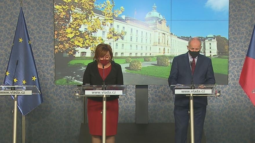 Video Tisková konference po jednání vlády 16. října