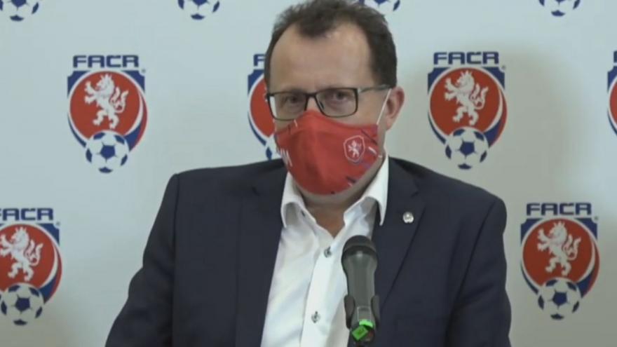 Video Místopředseda Roman Berb rezignoval, řekl na tiskové konferenci šéf FAČR martin Malík
