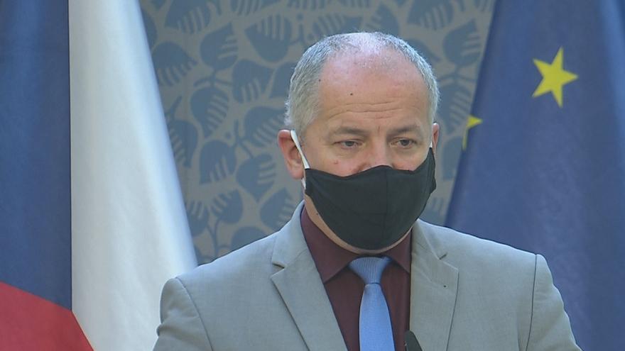 Video Tisková konference po jedná vlády 21. října