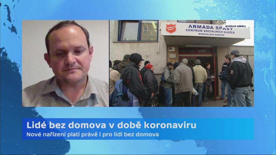Video Rozhovor s národním ředitelem sociálních služeb Armády spásy Janem Františkem Krupou