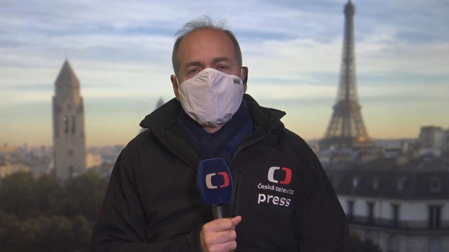 Video Studio ČT24: Francouzský zpravodaj Jan Šmíd o útocích v Nice