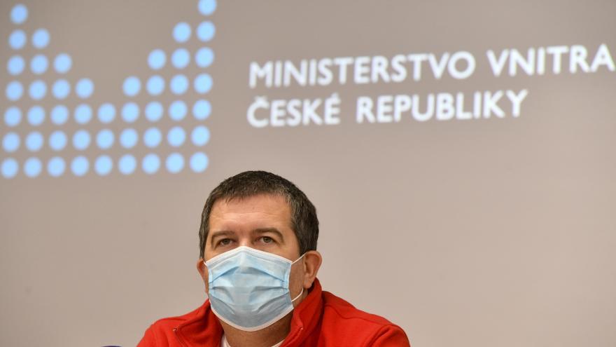 Video Brífink ministra vnitra Jana Hamáčka po jednání Ústředního krizového štábu 11. listopadu