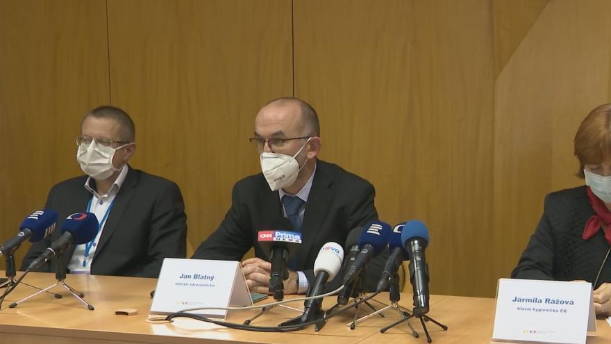 Video Tisková konference k aktuální epidemiologické situaci 13. listopadu