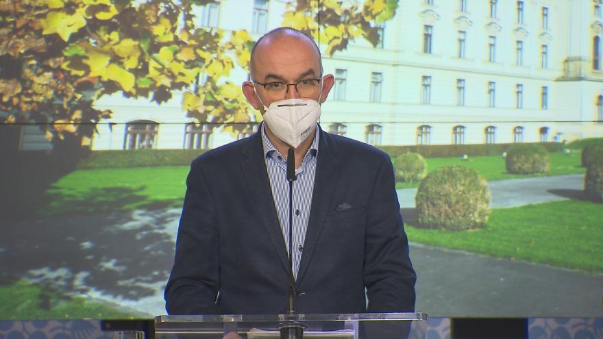 Video Brífink po jednání vlády z 16. listopadu