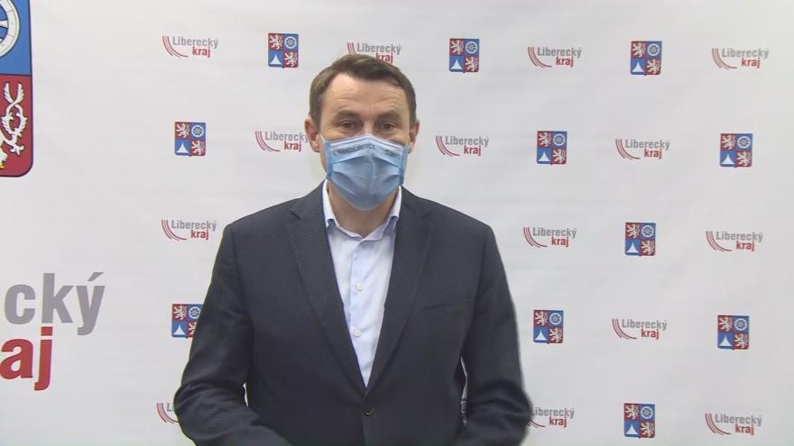 Video Mimořádný brífink hejtmana Libereckého kraje Martina Půty
