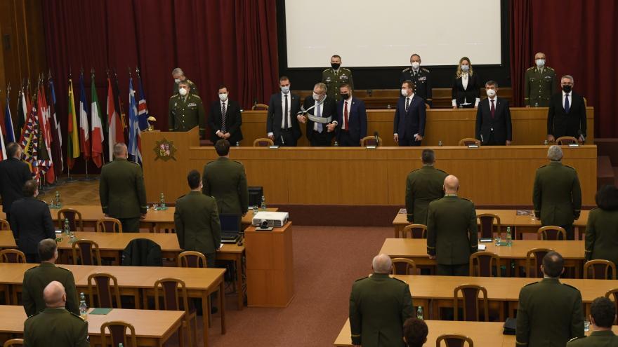 Video Velitelského shromáždění k objasnění priorit a hlavních úkolů armády v roce 2021