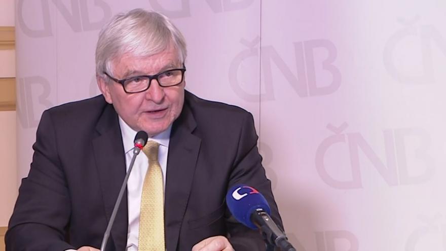 Video Tisková konference guvernéra České národní banky Jiřího Rusnoka z 26. listopadu