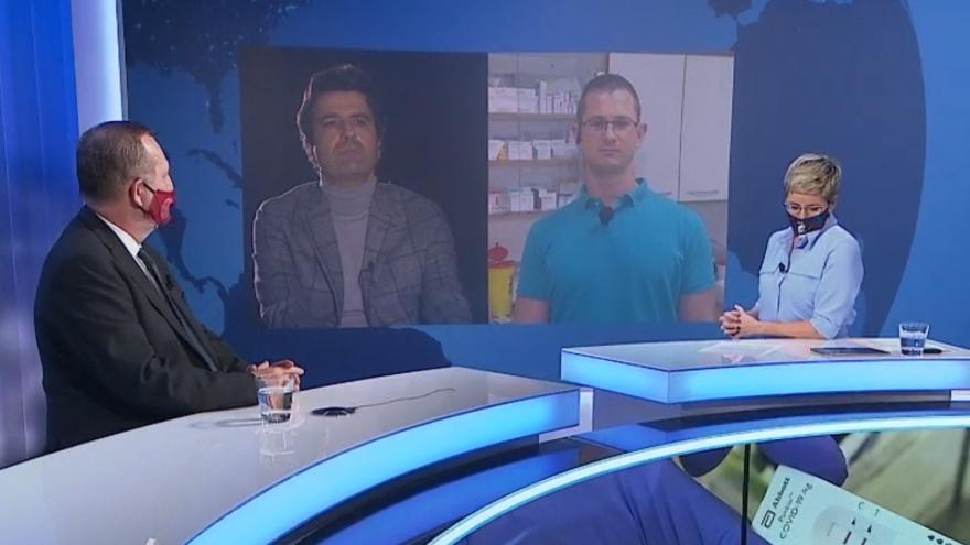 Video Lékaři Zima a Mounajjed: Je třeba, aby lidé byli zodpovědní