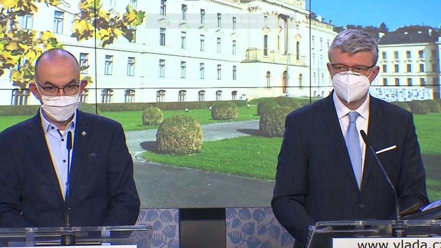 Video Mimořádné pořady ČT24 - Tisková konference po jednání vlády o možném rozvolnění protikoronavirových opatření