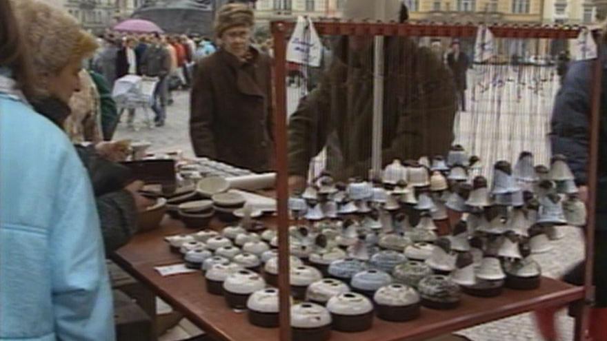 Video Pražský vánoční trh pokračuje