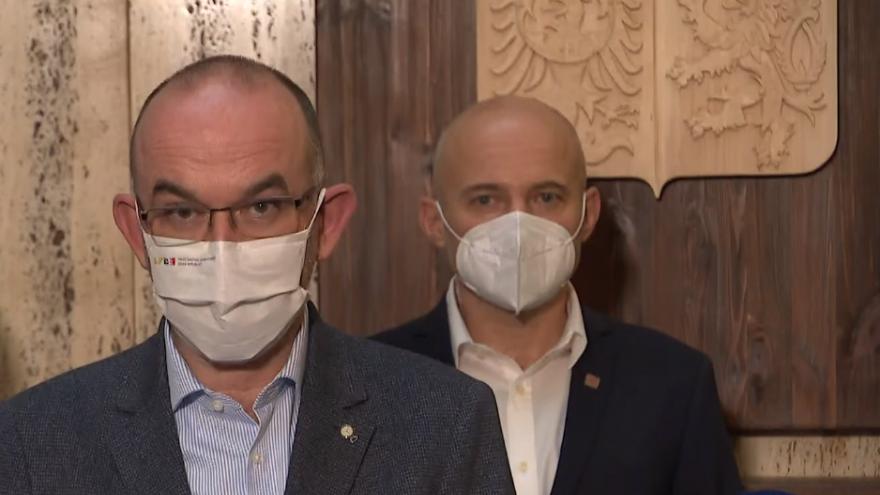 Video Brífink ke konci první etapy vývoje české vakcíny proti covidu-19
