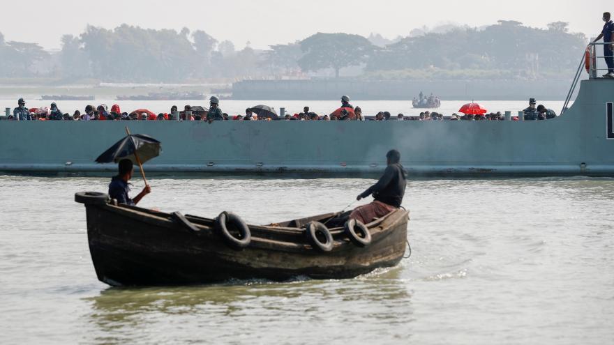 Video Horizont ČT24: Převoz Rohingů