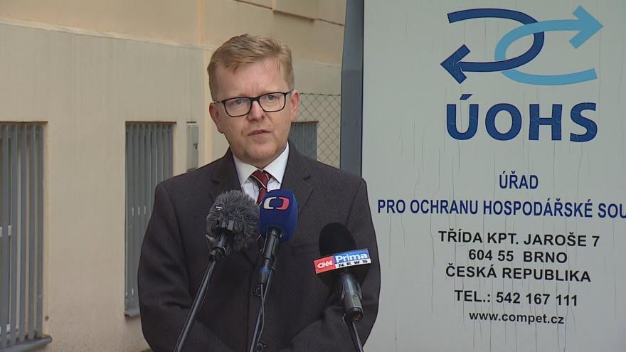 Video Brífink nového předsedy ÚOHS Petra Mlsny