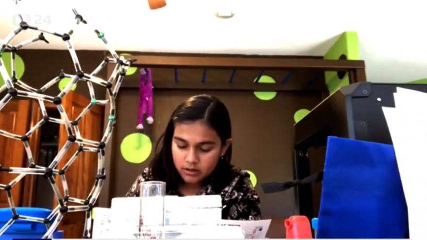 Video Horizont ČT24: Časopis Time jmenoval mladou vědkyni dítětem roku