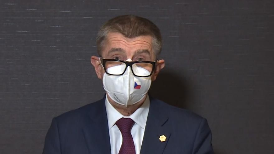 Video Tisková konference premiéra Babiše po jednání Evropské rady 11. prosince