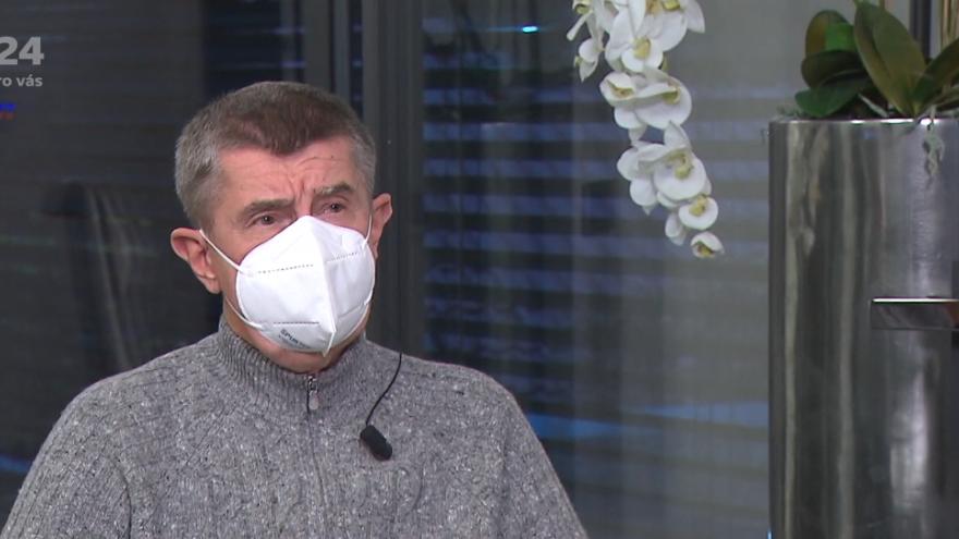 Video Premiér Andrej Babiš předpokládá, že vláda v pondělí zpřísní opatření