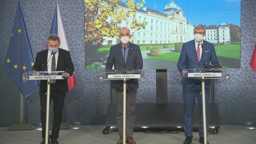 Video Tisková konference po mimořádném jednání vlády 17. prosince