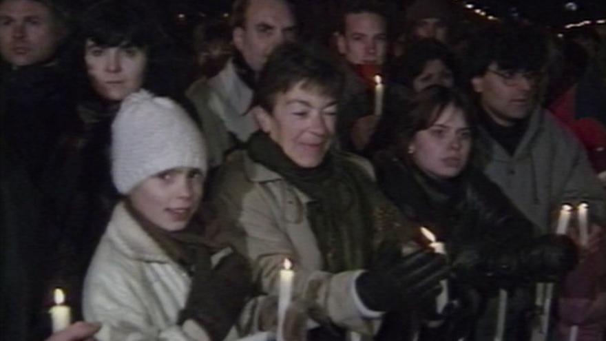 Video Česká mše vánoční na Václavském náměstí