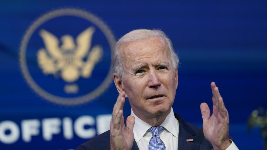 Video Tisková konference Joea Bidena k dramatické situaci ve Washingtonu