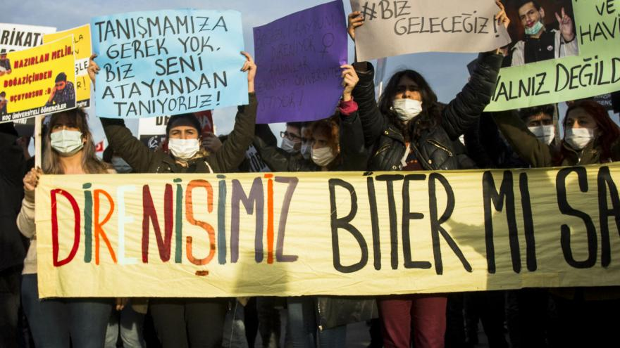 Video Události: Protesty v Turecku
