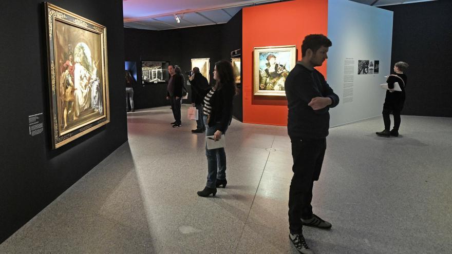 Video Horizont ČT24: Hledání a navracení umění ukradeného nacisty